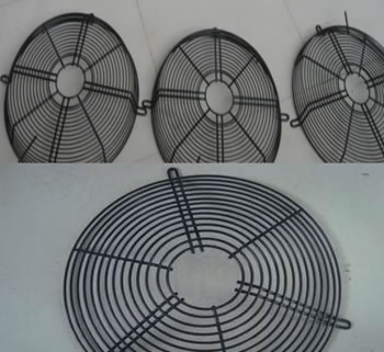 Air Conditioner Wire Mesh Fan Guards Standard Parts For
